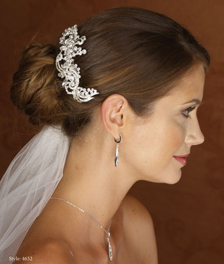Marionat Bridal 4652 Rhinestone Clip - Le Crystal Collection