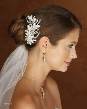 Marionat Bridal 8701 Rhinestone Clip- Le Crystal Collection