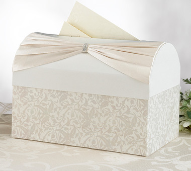 Ivory Sash Card Box