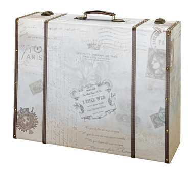 GA507    True Love Suitcase Card Box
