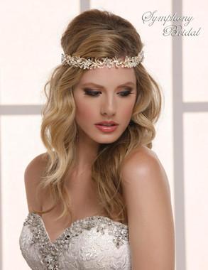 Symphony Bridal V-Band Hair Wrap - HW601