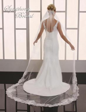 Symphony Bridal Cathedral Wedding Veil - 6778VL