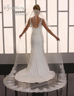 Symphony Bridal Cathedral Wedding Veil - 6773VL