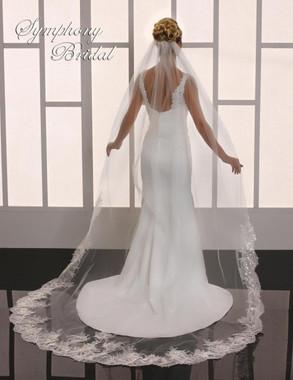 Symphony Bridal Cathedral Wedding Veil - 6775VL