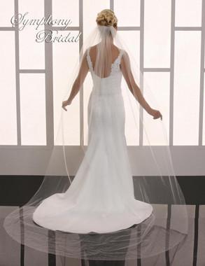 Symphony Bridal Cathedral Wedding Veil - 6734VL
