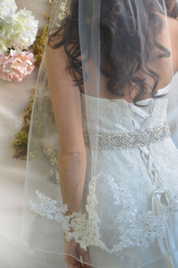 Ansonia Bridal Veil Style 726 - Lace Edge Veil