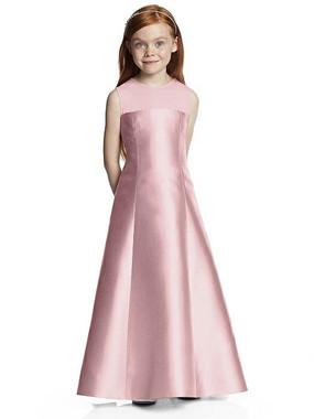 Dessy Flower Girl Dress FL4041 - Sateen Twill