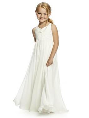 Dessy Flower Girl Dress FL4049-Lux chiffon dress