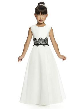 Dessy Flower Girl Dress FL4050 - Mousseline