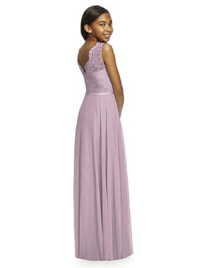 Dessy Collection Junior Bridesmaid Style JR532 - Lux Chiffon