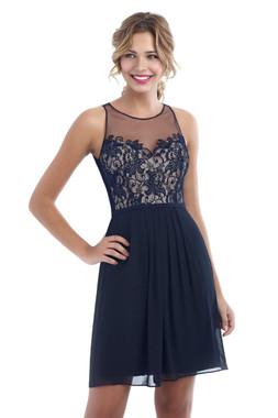 Alexia Designs Bridesmaids Style 4214 -  Bella Chiffon / Lace