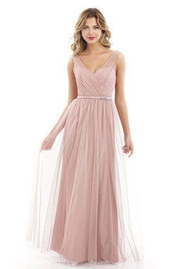 Alexia Designs Bridesmaids Dress Style 4232 - Floor Length/Tulle