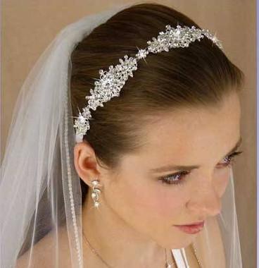 LC Bridal 1791 - Rhinestone Jeweled Headband