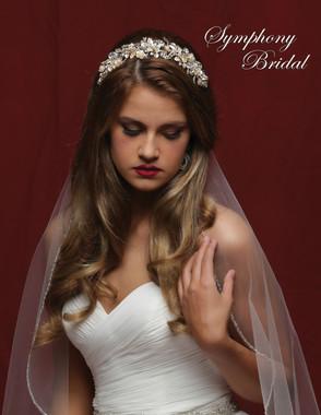 Symphony Bridal Hair Comb - CB1715