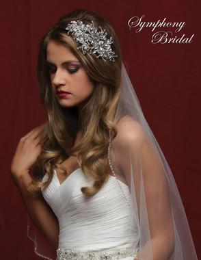 Symphony Bridal Hair Comb - CB1716