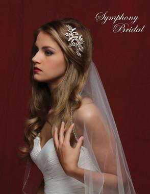 Symphony Bridal Hair Comb - CB1717