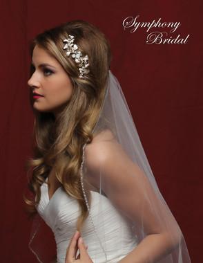 Symphony Bridal Hair Comb - CB1718