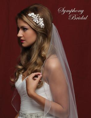 Symphony Bridal Hair Comb - CB1719
