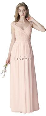 Bill Levkoff Bridesmaid Dress Style 1250 - Chiffon & Corded Lace