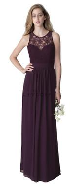 Bill Levkoff Bridesmaid Dress Style 1251 - Chiffon & Corded Lace