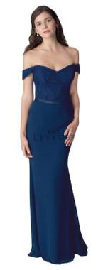Bill Levkoff Bridesmaid Dress Style 1252 - Corded Lace & Chiffon