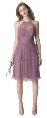 Bill Levkoff Bridesmaid Dress Style 1254 -  English Netting
