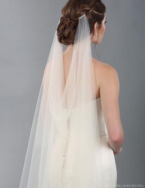 Bel Aire Bridal Veils V7339 - Watteau luxe veil