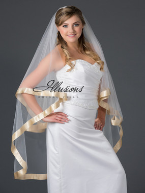 Illusions Bridal Veils Style Number L7-452-GR