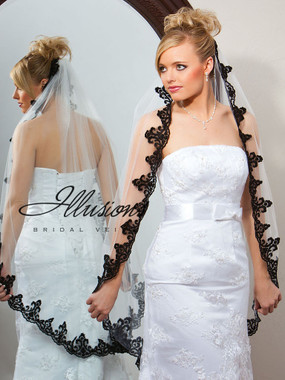 Illusions Bridal Veils Style Number 7-451-3L