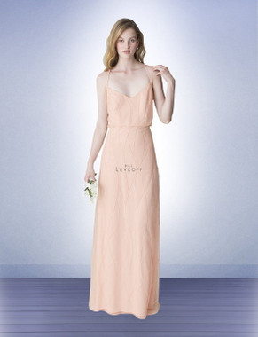 Bill Levkoff Bridesmaid Dress Style 1263 -  Sequin Pattern on Net