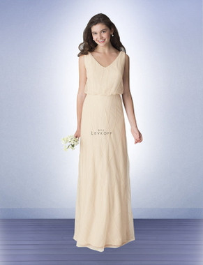 Bill Levkoff Bridesmaid Dress Style 1264 -  Sequin Pattern on Net