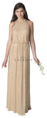 Bill Levkoff Bridesmaid Dress Style 1258 -  Sequin Net