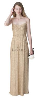 Bill Levkoff Bridesmaid Dress Style 1259 -  Sequin Net