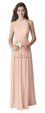 Bill Levkoff Bridesmaid Dress Style 1260 -  Chiffon & Sequin Net