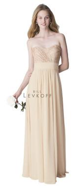 Bill Levkoff Bridesmaid Dress Style 1261 -  Chiffon & Sequin Net