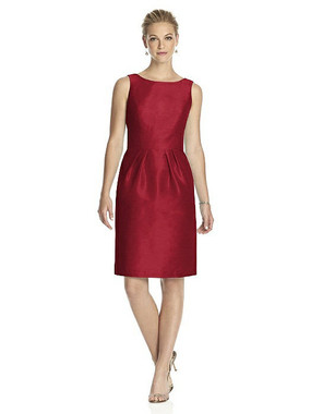 Alfred Sung Dress Style D522 - Barcelona - Dupioni - In Stock Dress