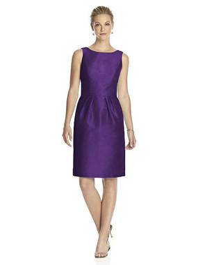 Alfred Sung Dress Style D522 - Majestic - Dupioni - In Stock Dress