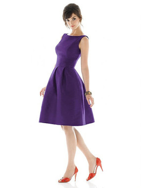 Alfred Sung Dress Style D448 - Majestic - Dupioni - In Stock Dress