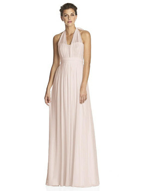 After Six Dress Style 6749 - Blush/Pink Gold - Lux Chiffon - In Stock Dress