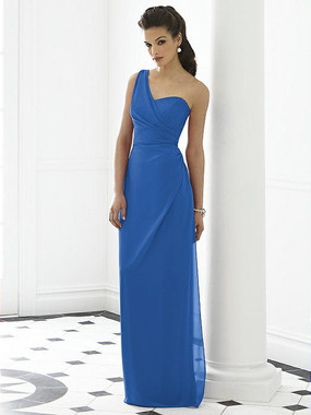 After Six Dress Style 6646 - Lapis - Nu-Georgette - In Stock Dress