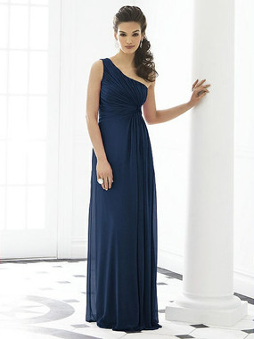 fter Six Dress Style 6651 - Midnight - Lux Chiffon - In Stock Dress