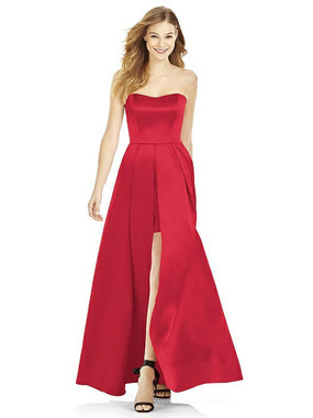 After Six Bridesmaids Style A6755 - Matte Satin