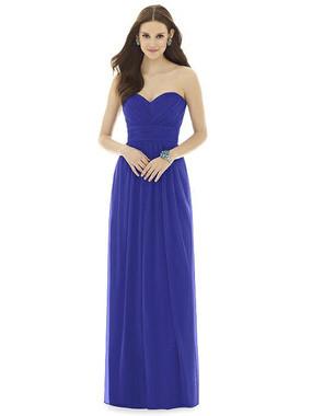 Alfred Sung Dress Style D725- Chiffon Knit