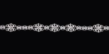 En Vogue Bridal Belt Style BT1780 - rhinestone belt with organza ties