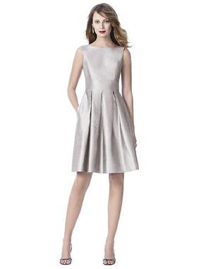 Dessy Bridesmaids Dress Style 2915 - Pebble Beach - Silk Shantung - In Stock Dress