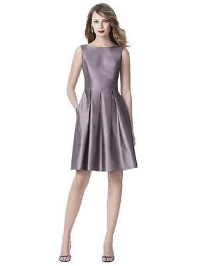 Dessy Bridesmaids Dress Style  2915 - Shadow - Silk Shantung - In Stock Dress