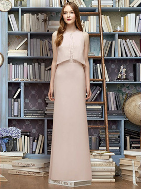 Lela Rose Bridesmaid Style LR225 - Crepe