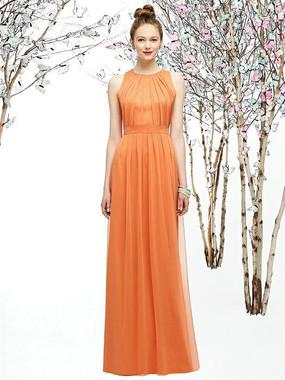 Lela Rose Style LR207 - Crinkle Chiffon