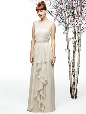 Lela Rose Style LR202 - Crinkle Chiffon