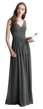 Bill Levkoff Bridesmaid Dress Style 1410 - Corded Lace & Chiffon